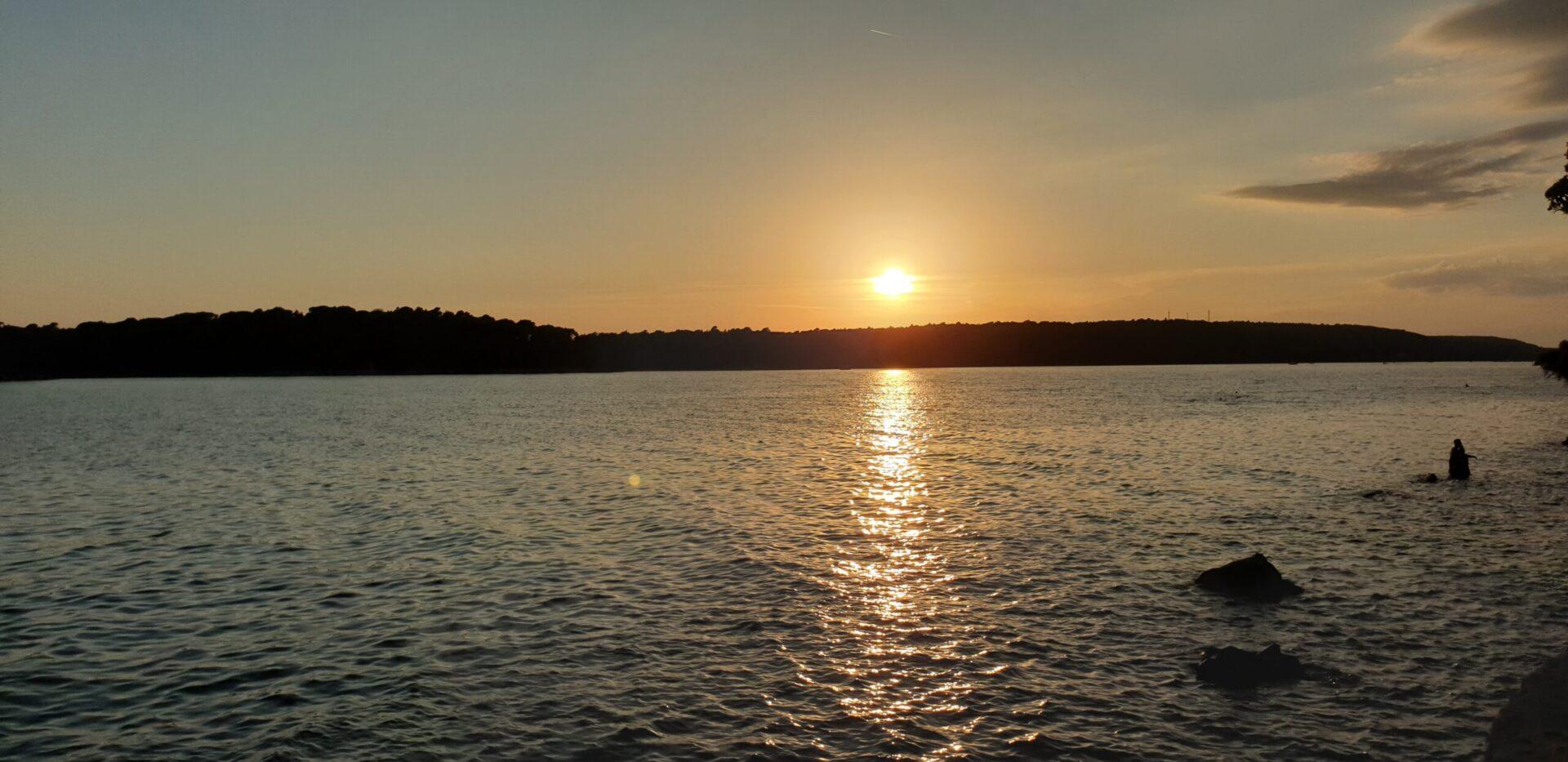 Rab - zalazak sunca
