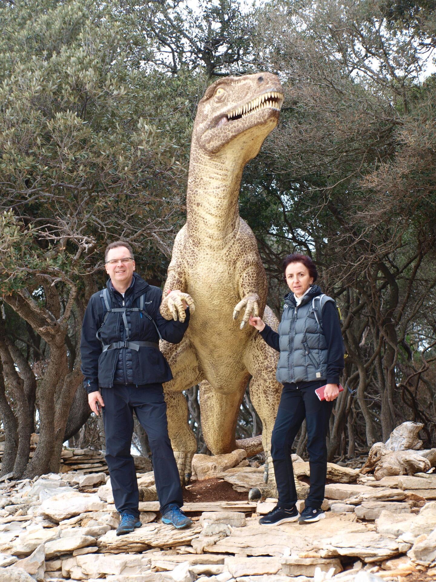 Dynosaur on Briuni
