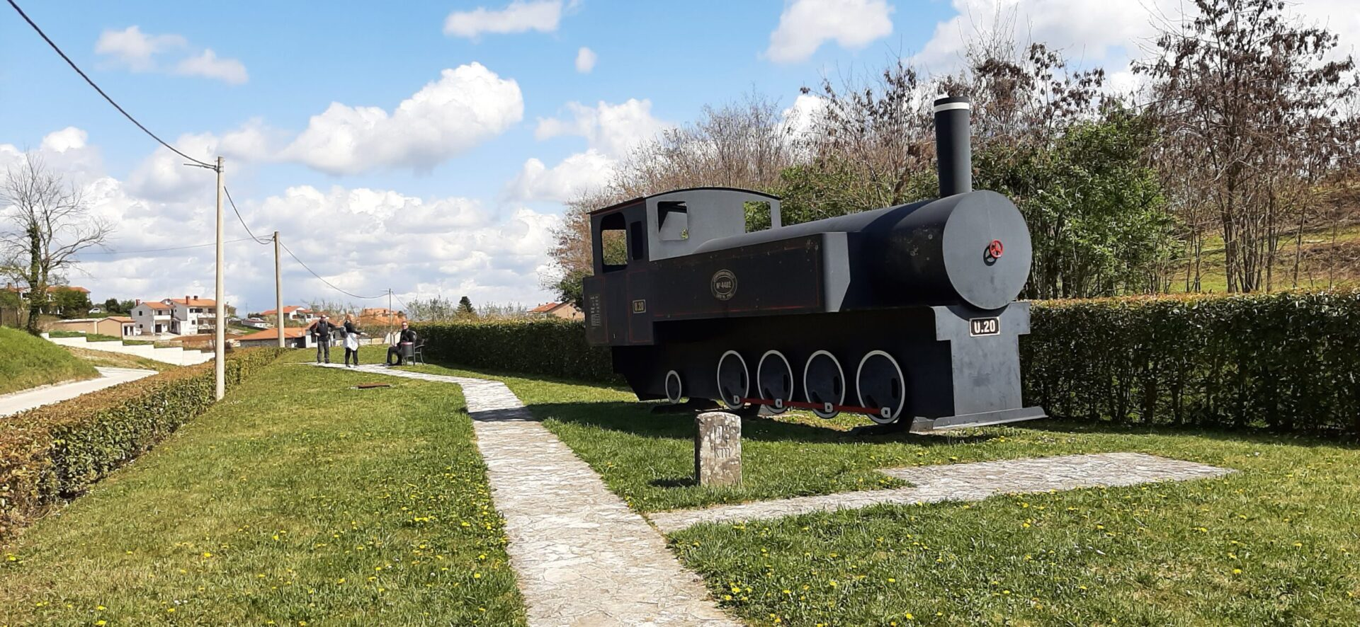 Parenzana - lokomotiva U20