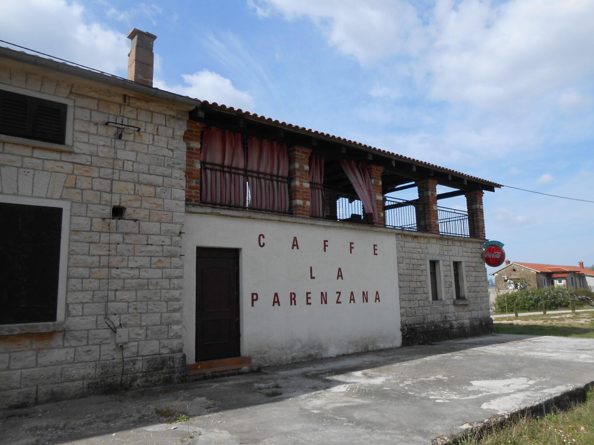 Višnjan - Caffe la Parenzana