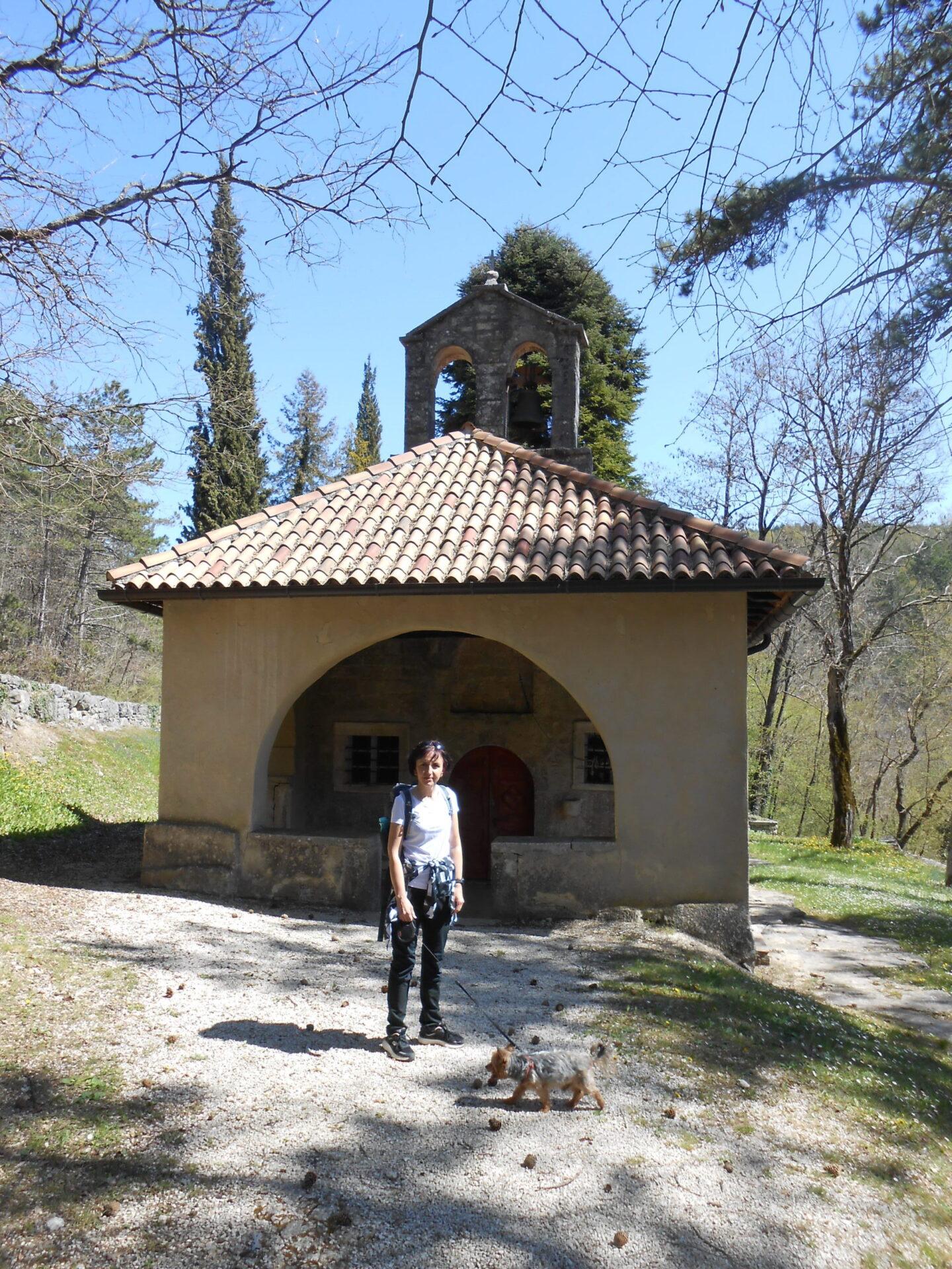 crkvica sv. Marije na Škriljinah