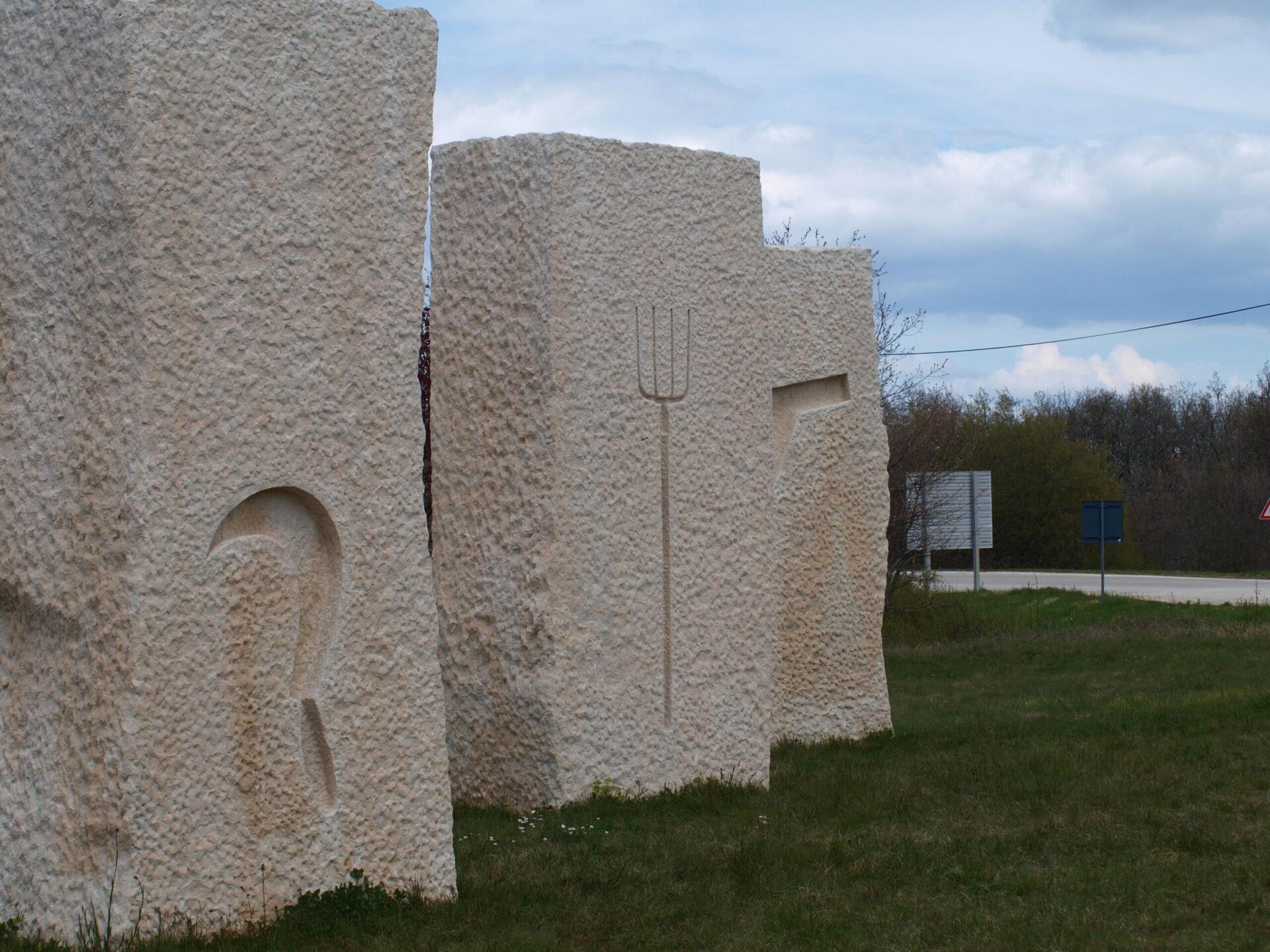 Višnjan spomenik