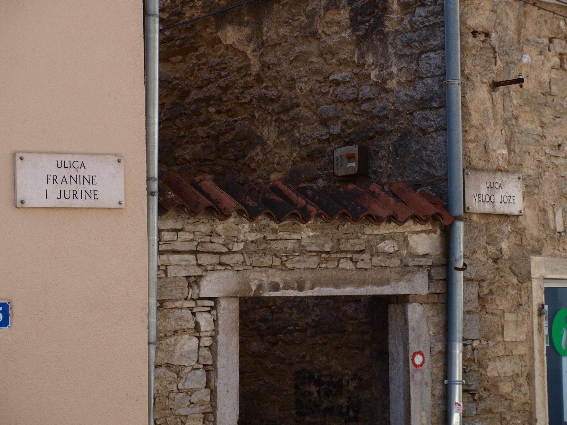 Pazinske ulice