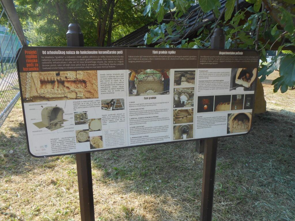 Crikvenica - replika rimske peći